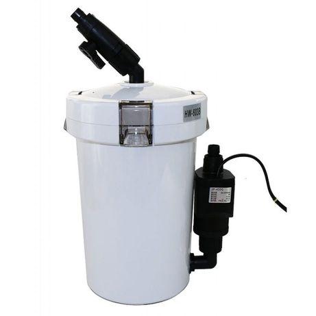 (+помпа)Внешний аквариумный фильтр Sunsun HW-603B