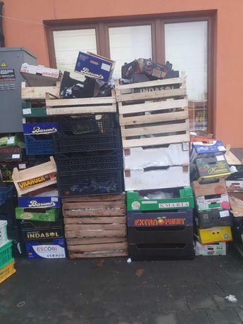Skrzynki plastikowe,drewniane ,kartonowe