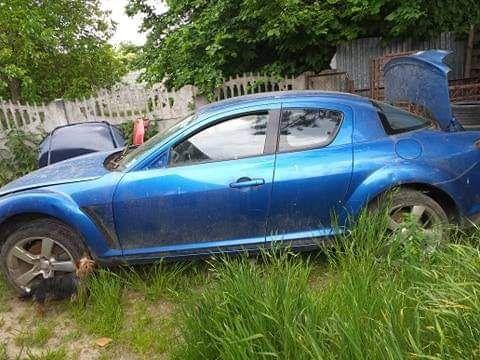 Mazda rx8 części skrzynia/lampy/silnik/felgi/radio/kierownica itd