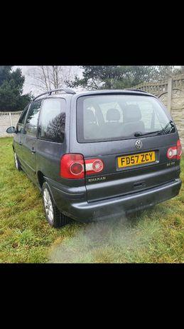 VW SHARAN 2007 r auto na części 2,0 TDI 140KM. Silnik! BRT