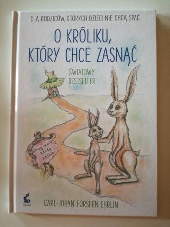 """Książka """"O króliku, który chce zasnąć"""""""