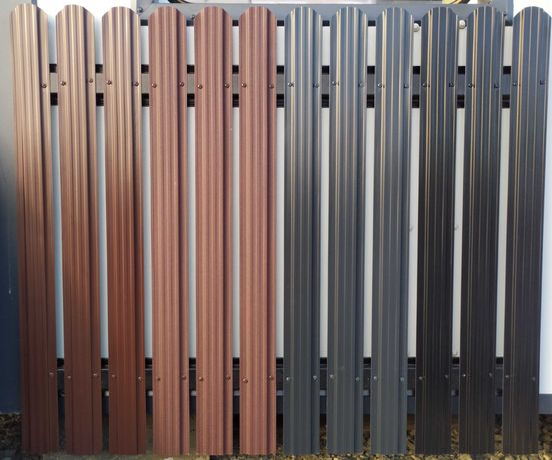 Sztachety metalowe profilowane z blachy - PRODUCENT