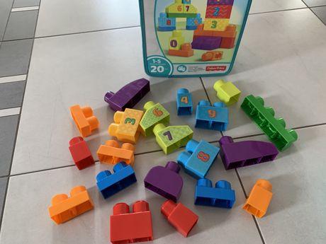 Klocki Mega Bloks (20 szt.) JAK NOWE
