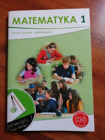 Matematyka 1, zeszyt ćwiczeń do gimnazjum