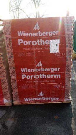 Pustak ceramiczny Porotherm 8 Wienerberger