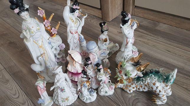 Porcelanowe figurki