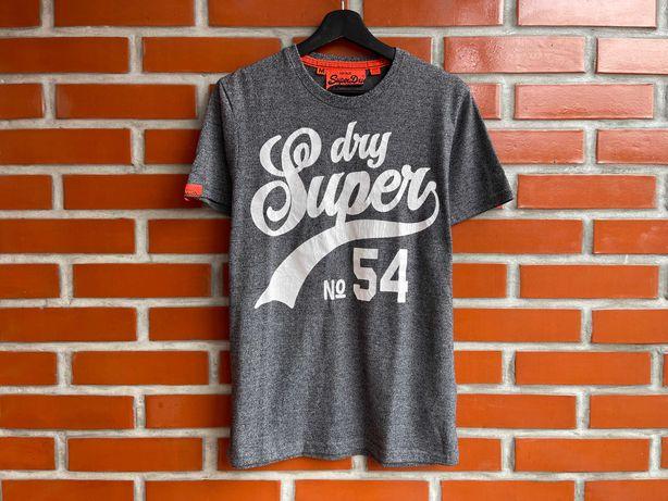 Superdry Оригинал мужская футболка размер M супердрай супердрю Б У