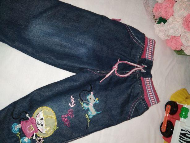 Тёплые штаны, джинсы