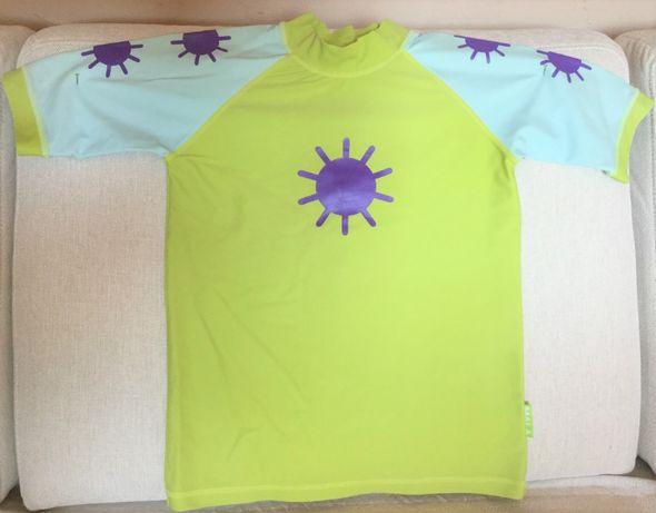 koszulka do pływania,dziecięca, anty promienie UV SaveThePlanet