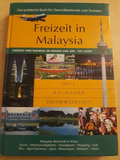 Książka (przewodnik) w jęz. niem. po Malezji - Freizeit in Malaysia
