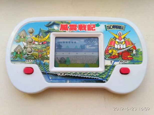 Игра от Bandai 1990 год электронная, как ну погоди электроника.