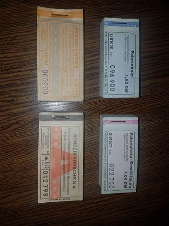 Bilety mzk stare Niemcy