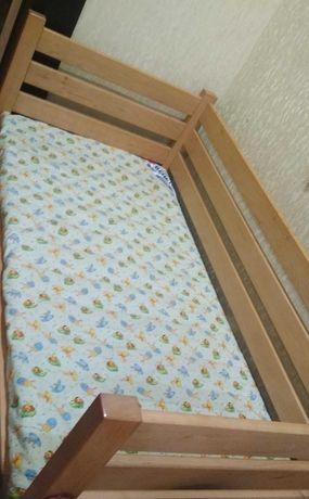 Кровать детская с ортопедическим матрасом Венетто от 0 до 7 лет