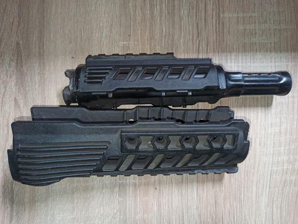 Rura gazowa do AK z nakładką i łożem plastikowym