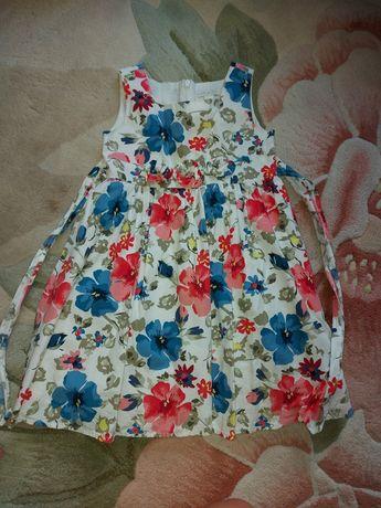 Плаття літнє для дівчинки 4 роки