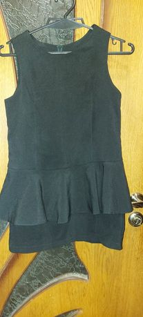 Школьное платье с баской