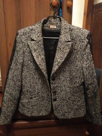 Костюм пиджак и юбка теплый