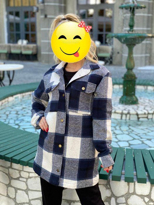"""""""< 2020 !!! Стильное пальто-рубашка на подкладке, в стиле Zara """"> Одесса - изображение 1"""