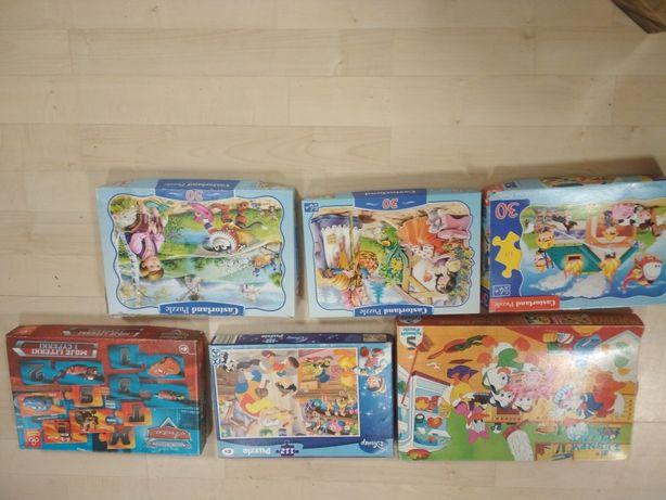 Puzzle 3-4 lata zabawki piłki klocki maskotki i inne zabawki