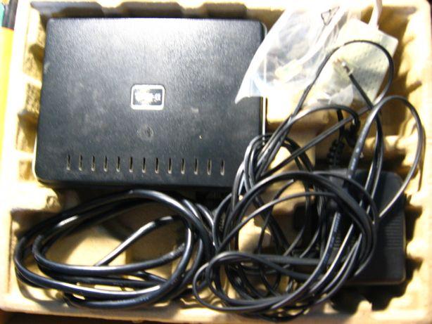 адсл роутер длинк комплект, телефон, зарядка сканера даром