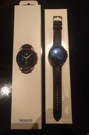 Smartwatch Samsung Galaxy Watch3 45mm prateado - Novo