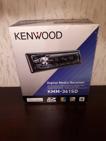 Radioodtwarzacz samochodowy Kenwood KMM-361SD (Stan BARDZO DOBRY)