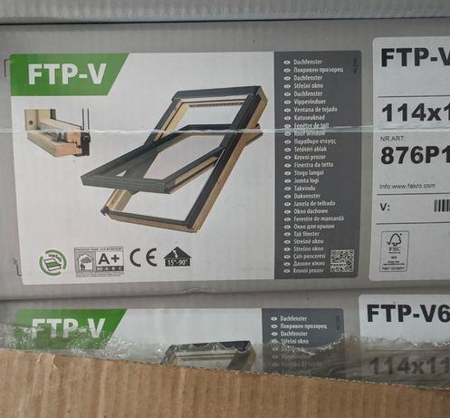 Okno dachowe okna połaciowe Fakro FTP 114x118 OKAZJA cena tylko 799zł!