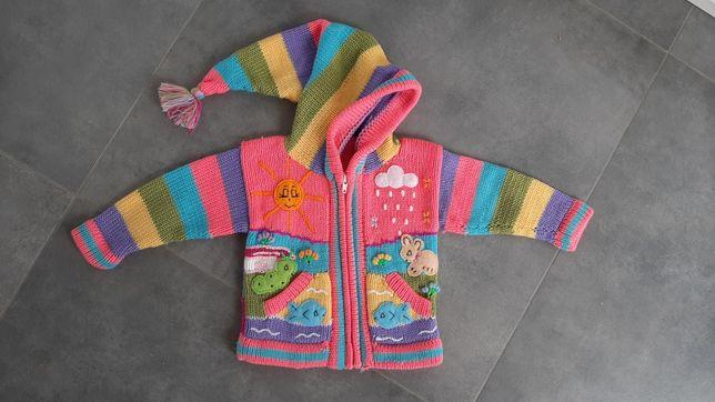 Nowy sweterek 80/86