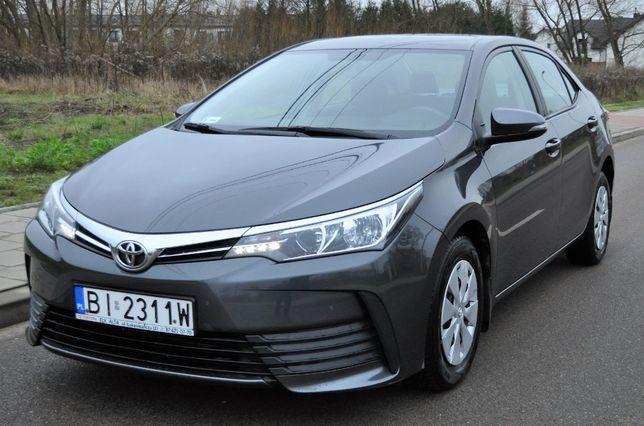 Toyota Corolla 1,4D4D Salonowa 2016r. bezwypadkowa 70tys przebiegu