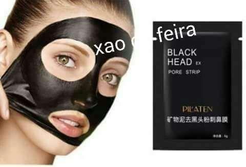 Black Head máscara preta saquetas