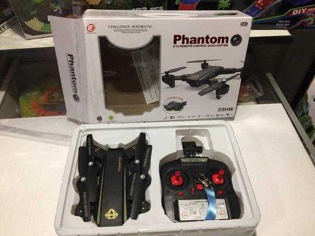 Квадрокоптер Tomito с камерой, быстрый вертолет Фантом / Phantom D5hw