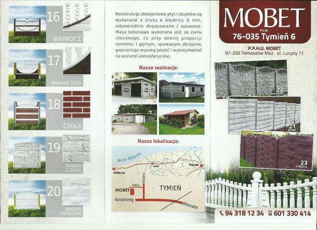 Ogrodzenia betonowe - PRODUCENT, Panele siatkowe, Podmurówka , Słupki