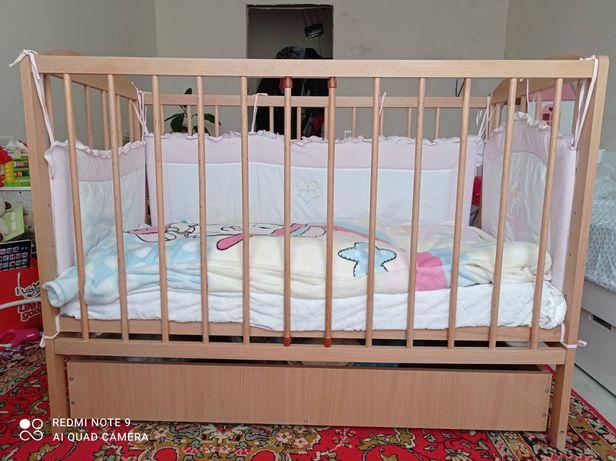 Кроватка  120×60