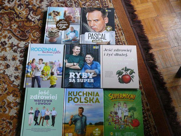 NOWE na prezent Książki Lidl różne 7 zł/ szt.