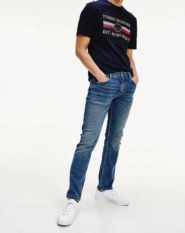 Tommy Hilfiger jeansy o wąskim kroju