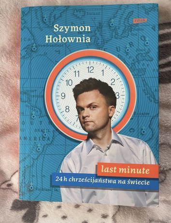 Książka last minute 24h chrześcijaństwa na świecie Szymon Hołownia