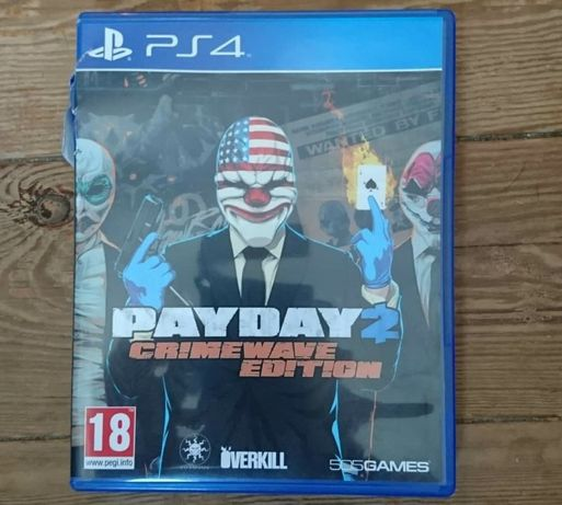 Gra Na Playstation 4, PS4, Payday 2 Crimewave Edition