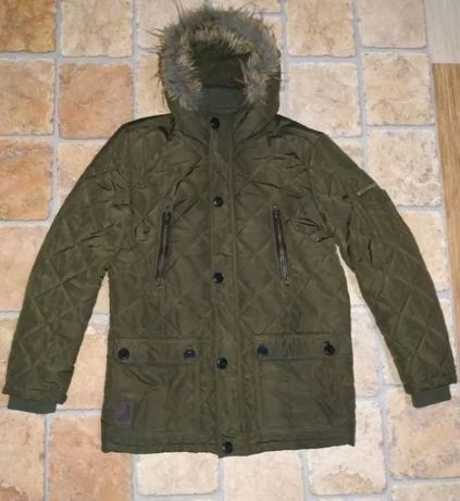 Мужская зимняя куртка, удлиненная парка Glo-Story XL (Hungary)