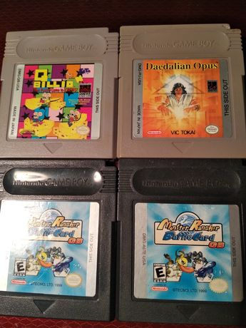 Games for Nintendo Game Boy , gameboy