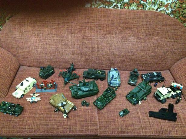 Коллекция военной техники танк конструктор лего