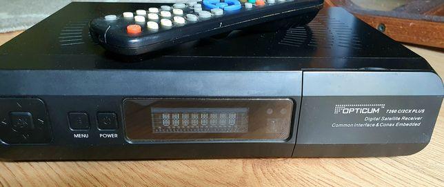 Tuner TV SAT Optimum 7260 CI2CX plus