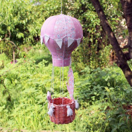 Воздушный шар интерьерная игрушка (монгольфьер)