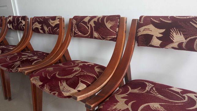 Krzesła skoczki Prl wzór 1