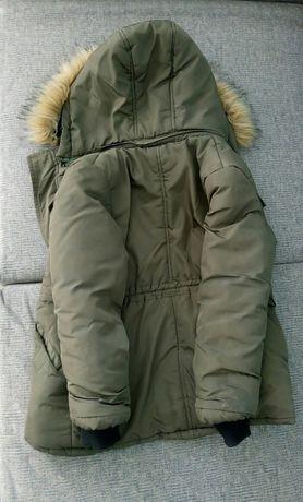 Зимова куртка для хлопчика ( на зріст 120-136 см, на вік 7-9років)