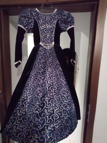 Kostium sukienka księżniczki