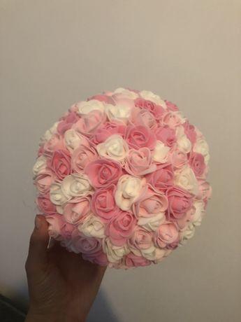 Kule piankowe 10sztuk róże