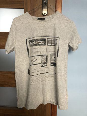 Koszulka krótki rękawek aparat polaroid Diverse rozmiar S