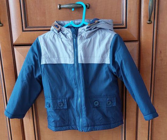 Wiosenno/jesienna kurtka dla chłopca 86 cm