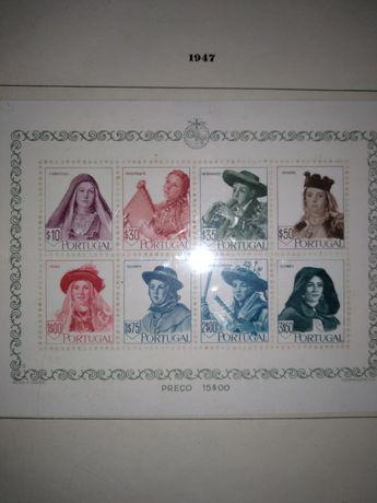 Selos Costumes Portugueses 1947