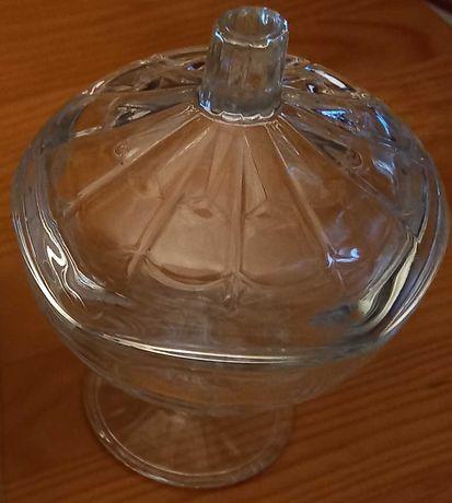 Bomboneira Pasabahce Glory 1  com tampa vidro